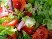 Салат с mortadella Стоковые Изображения RF
