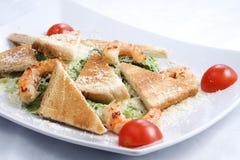 Салат с креветками стоковое фото rf