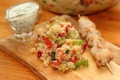 Салат с кускусом Стоковая Фотография RF