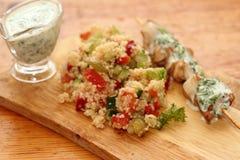 Салат с кускусом Стоковое Фото