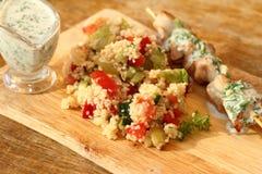 Салат с кускусом Стоковое Изображение RF