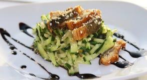 Салат с морепродуктами Стоковые Фотографии RF