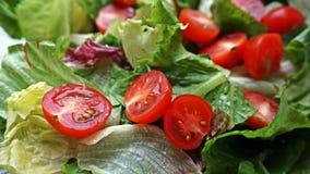 Салат с томатами вишни Стоковые Изображения