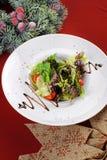 Салат с томатами Стоковое Фото