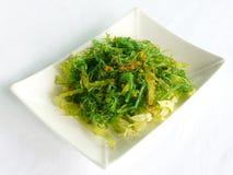 Салат с японской морской водорослью Стоковое Изображение RF