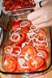 Салат томата Стоковое Изображение RF