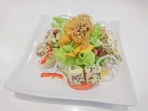 Салат тофу Стоковое фото RF