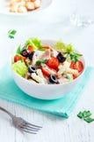 Салат тунца и макаронных изделий стоковое фото