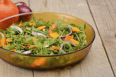 Салат тыквы стоковое изображение