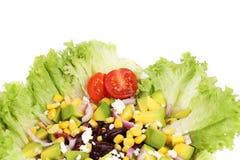 Салат фасолей на плите Стоковое Фото