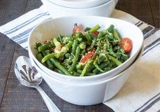 салат фасоли зеленый Стоковое Изображение