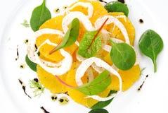 Салат фенхеля и цитруса Стоковые Изображения RF