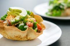 Салат шара Tortilla Стоковая Фотография RF