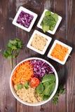 Салат шара Vegan Стоковые Фото