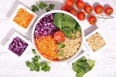 Салат шара Vegan Стоковые Изображения