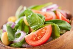Салат шпината Стоковое Изображение