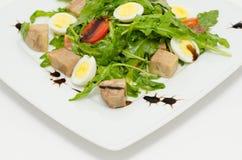 Салат яичек и свинины Стоковая Фотография RF