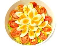 Салат яичка Салат вареного яйца как раз как любое sala Стоковое фото RF