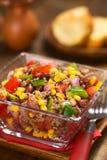 Салат Carne жулика Chili Стоковые Изображения RF