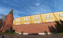 Сад Александра, Москва, русский город Вашингтон, Российская Федерация, Россия Стоковая Фотография RF