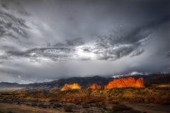 Сад богов в Колорадо-Спрингс Стоковое Изображение RF