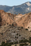 Сад богов Колорадо-Спрингс Стоковое Изображение RF