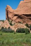 Сад богов Колорадо-Спрингс Стоковое Изображение