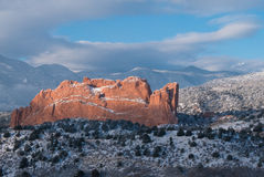 Сад богов, Колорадо Стоковые Фотографии RF