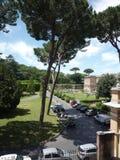 Сад Ватикана, государство Ватикан, Рим стоковые изображения