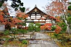 Сад виска наследия Tenryuji Стоковые Изображения RF