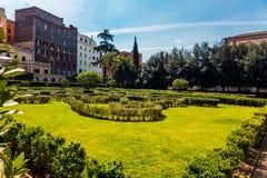 Сад в Риме Стоковые Фотографии RF
