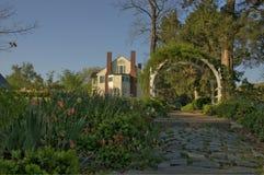 Сад в цветени Стоковая Фотография RF