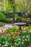 Сад города Tudor Стоковое Фото