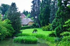 Сад Дании, Орхуса ботанический Стоковая Фотография