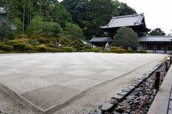 Сад Дзэн каменный Стоковое Изображение RF