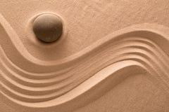 Сад Дзэн каменный Стоковое Фото