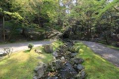 сад Дзэн на виске Daigoji Стоковая Фотография RF