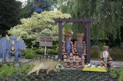 Сад детей в саде Орегона Стоковые Изображения RF
