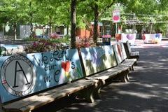 Сад детей Camden в Нью-Джерси Стоковая Фотография
