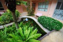 Сад и внешний дизайн Стоковые Изображения RF