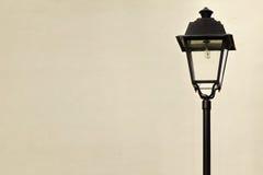 Сад или столб уличного фонаря в викторианском стиле Стоковые Изображения RF
