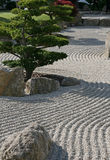 Сад картины Дзэн стоковые фотографии rf