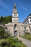 Сад Крайстчёрча Greyfriars в Лондоне Стоковая Фотография RF