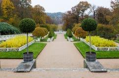 Сад на замке Gunnebo Стоковые Фото