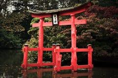 Сад Нью-Йорка японского стиля ботанический Стоковое Фото