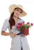 садовник Стоковое Изображение