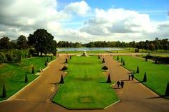 садовничает дворец kensington Стоковое Изображение