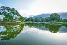 садовничает озеро taiping Стоковые Изображения