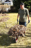 садовничая воссоздание пенсионера Стоковое Фото