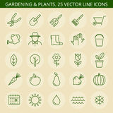 садовничая иконы Стоковое Фото